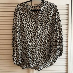 Funky printed blouse